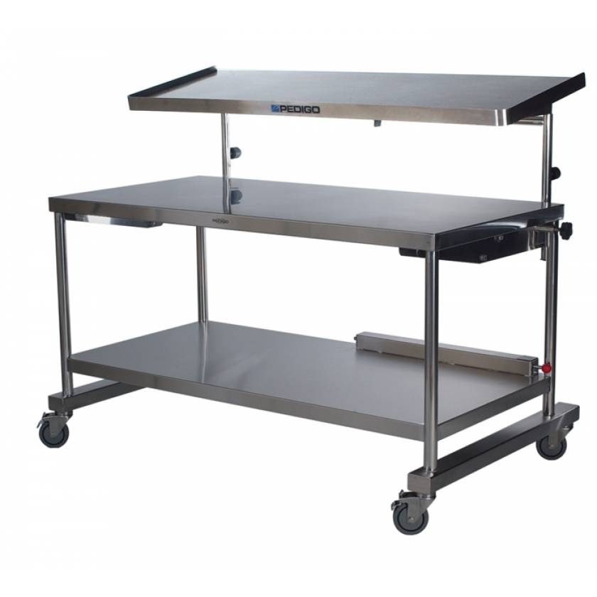 "Pedigo Space Station Central Supply Work Table 30"" D x 60"" W x 34"" H"