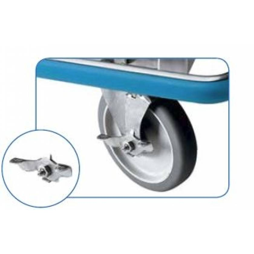 """Pedigo 6"""" Stainless Steel Brake Locks (Set Of Two)"""