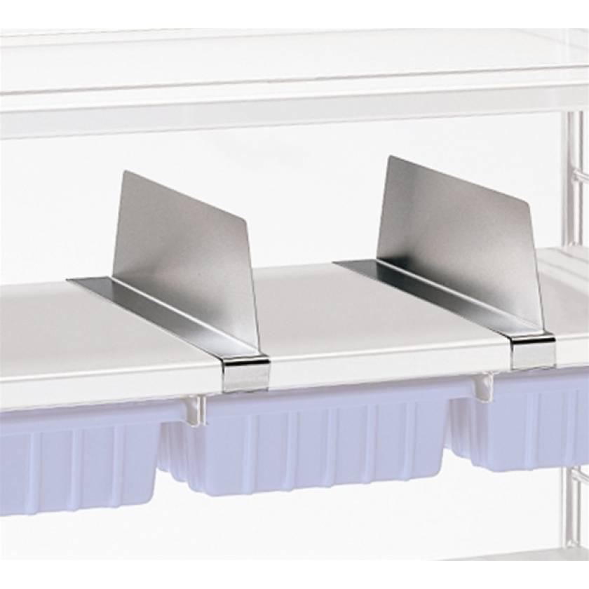 """Pedigo Shelf Divider, Six Inch (6""""), For Wire Shelf"""