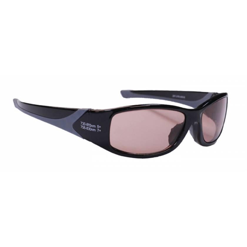 Alexandrite/Diode EN207 Laser Safety Glasses - Model 808