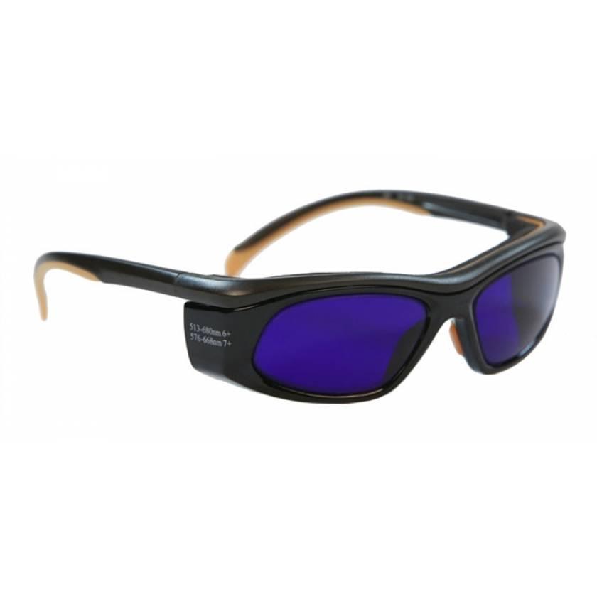 Dye Diode and HeNe Ruby Laser Filter Safety Glasses - Model 206