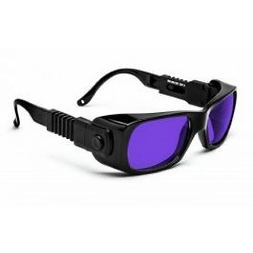 Dye Diode and HeNe Ruby Laser Filter Safety Glasses - Model 300