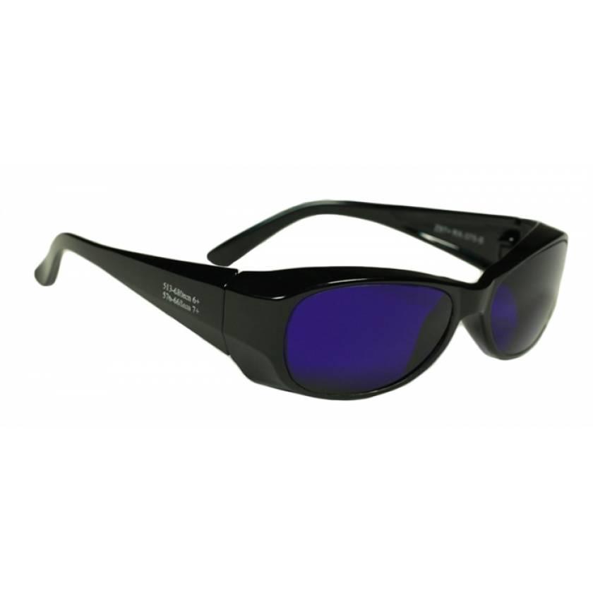 Dye Diode and HeNe Ruby Laser Filter Safety Glasses - Model 375