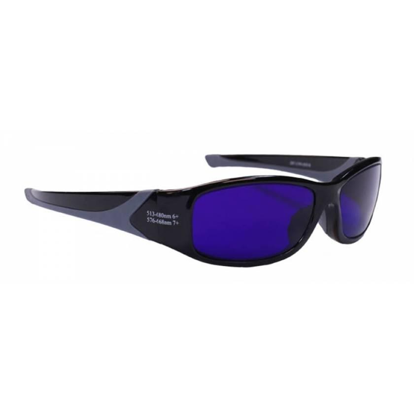 Dye Diode and HeNe Ruby Laser Filter Safety Glasses - Model 808