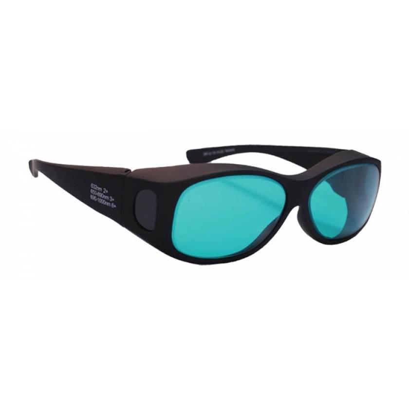 Alexandrite Diode High Light Transmission Fit Over Laser Safety Glasses - Model 33