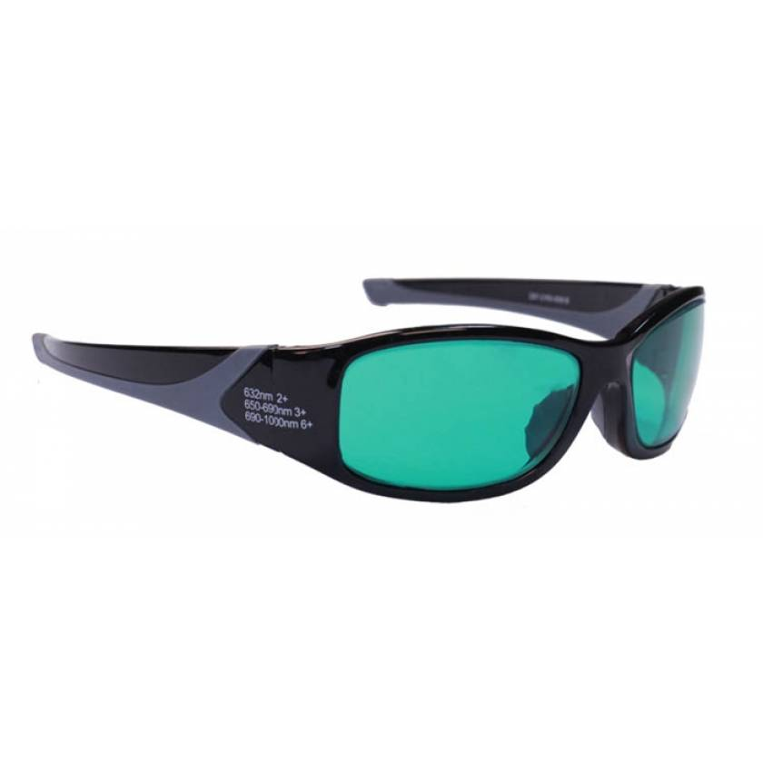 Alexandrite Diode High Light Transmission Laser Safety Glasses - Model 808