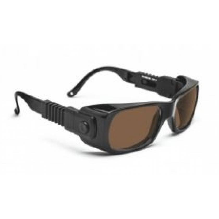 IPL Brown Contrast Enhancement Laser Safety Glasses - Model 300