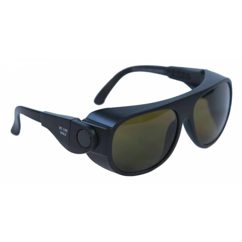 IPL Brown Contrast Enhancement Laser Safety Glasses - Model 66