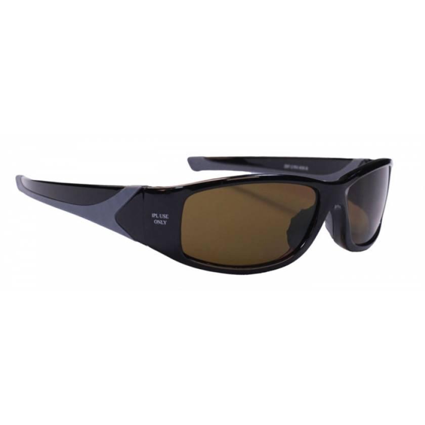 IPL Brown Contrast Enhancement Laser Safety Glasses - Model 808