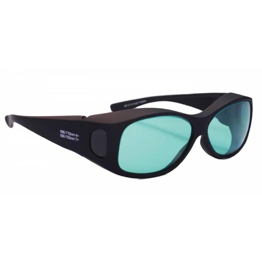 Ruby Fit-Over Laser Safety Glasses - Model 33