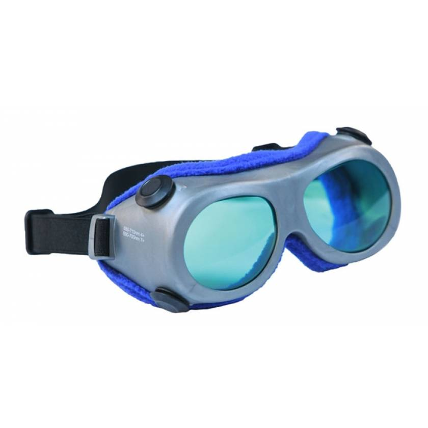 Ruby Laser Safety Goggles - Model 55