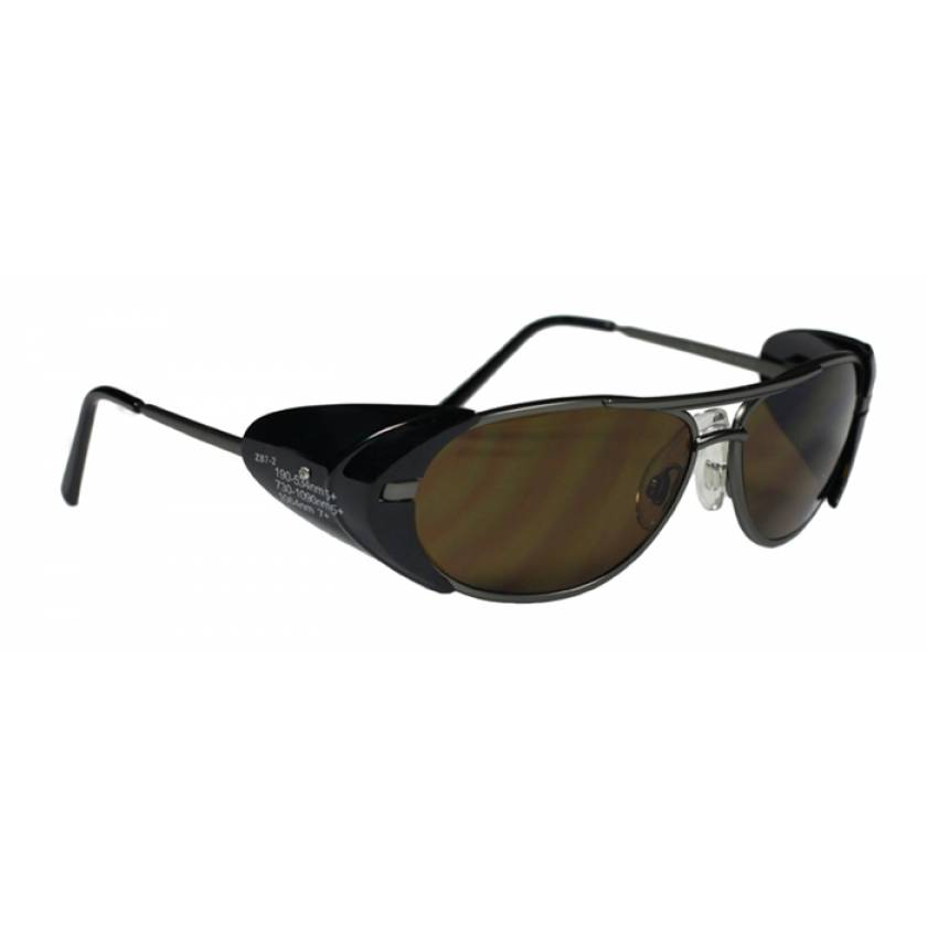 Multiwave YAG Harmonics Alexandrite Diode Laser Safety Glasses - Model 600