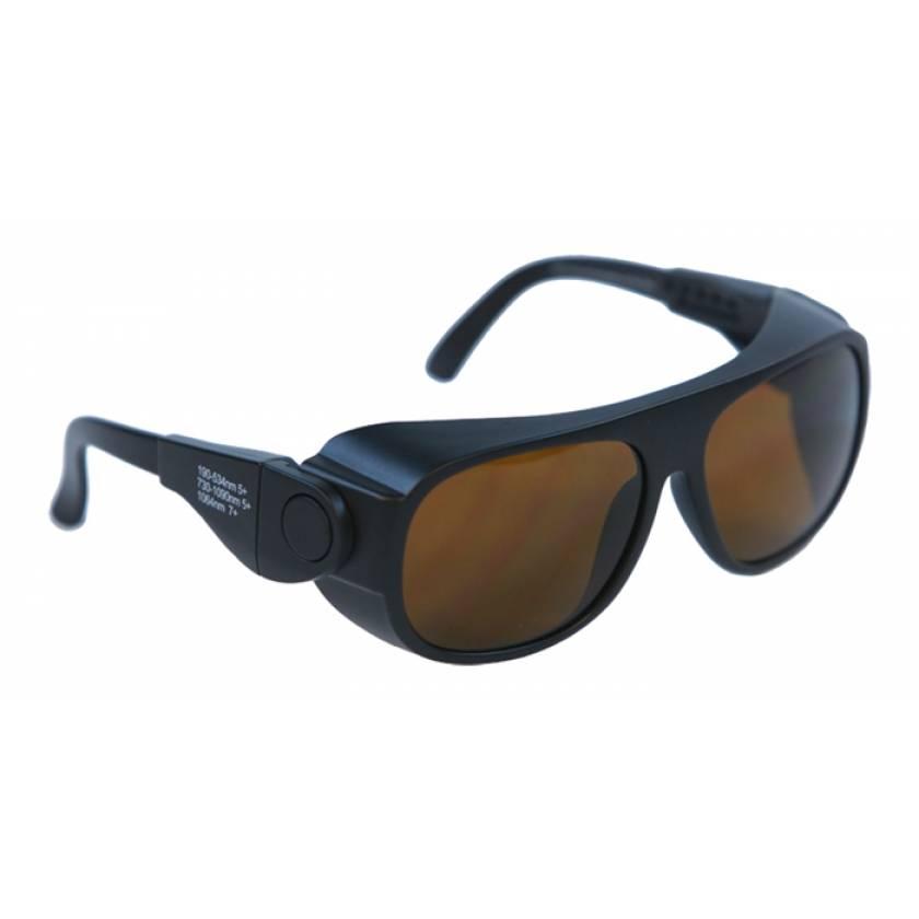 Multiwave YAG Harmonics Alexandrite Diode Laser Safety Glasses - Model 66