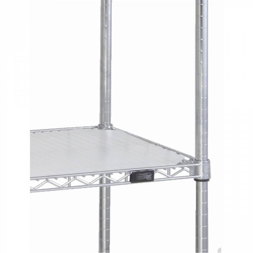 """Hard Plastic Shelf Inlay - 18""""D x 72""""L"""
