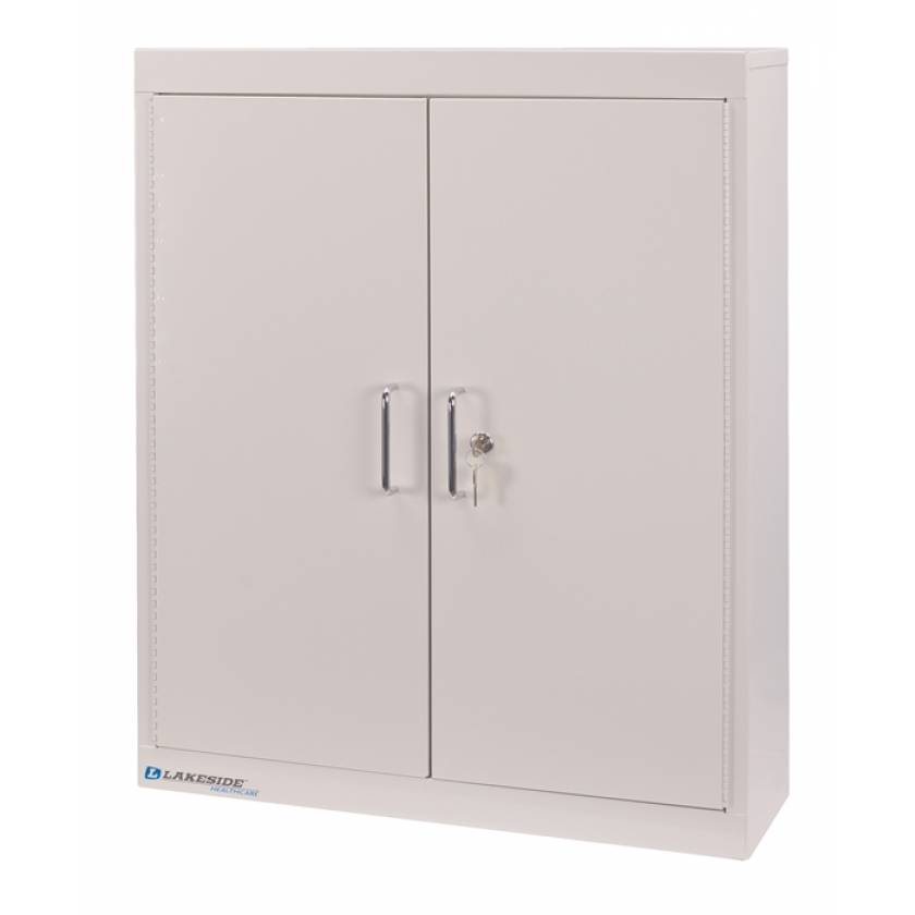"Lakeside Medication Storage Cabinet, Four Shelves - 30"" H x 24"" L x 8"" W"