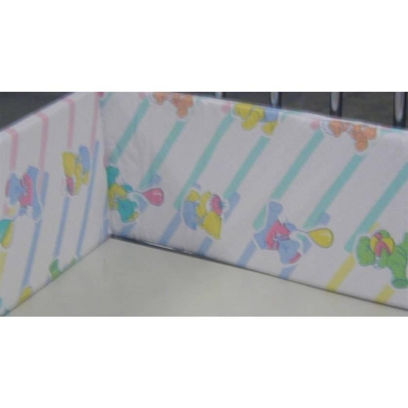 "Model C42 Crib Foam Bumper Pad for 30"" x 60"" Child Crib"