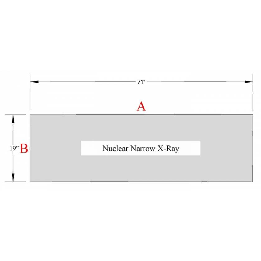 Nuclear Narrow Special Procedure Table Pad