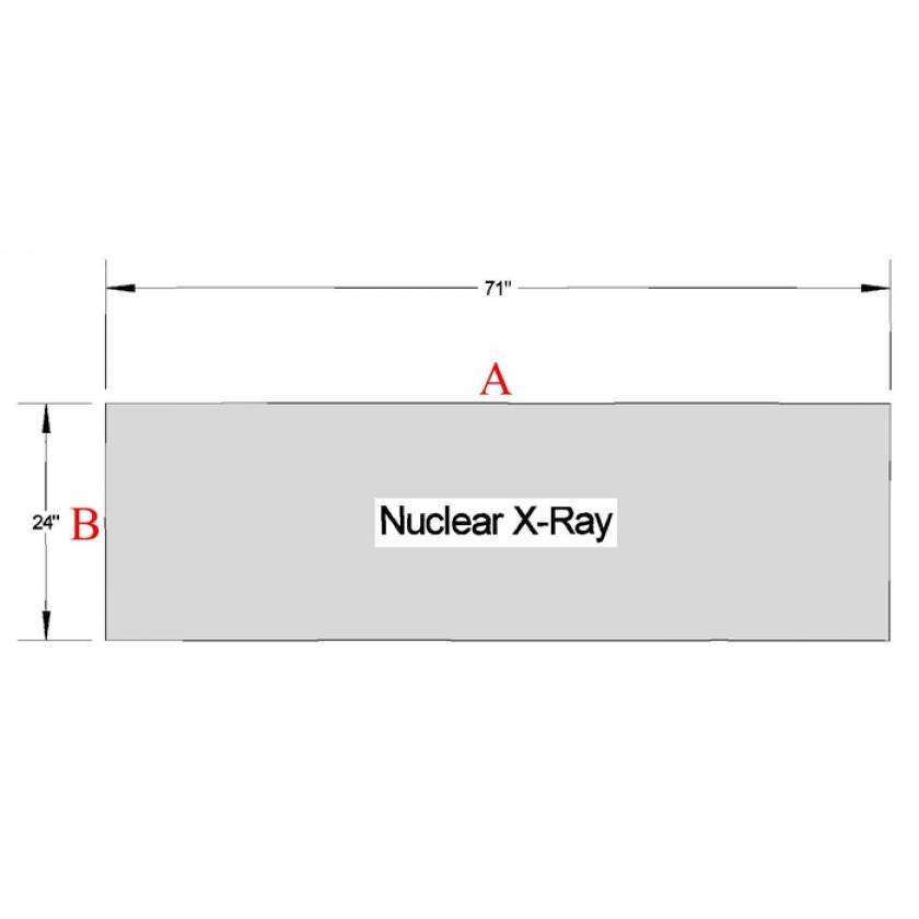 Nuclear X-Ray Table Pad