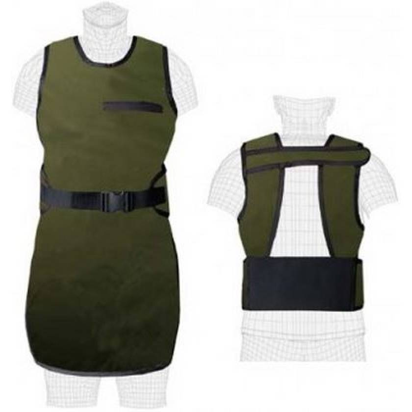 Ortho Guard with Attached Belt-Guard Non-Lead Apron
