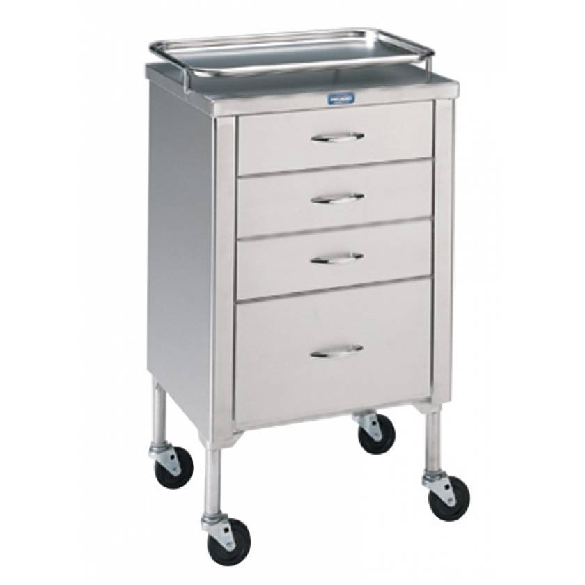 Pedigo Anesthetist Cabinet With 4 Drawers