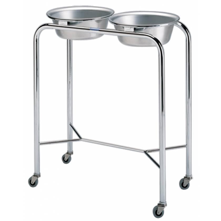 Pedigo Chrome Double Basin Stand