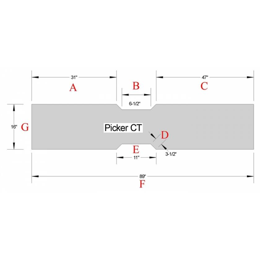 Picker CT Table Pad