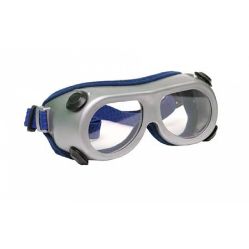 Silicone Radiation Goggle Gray