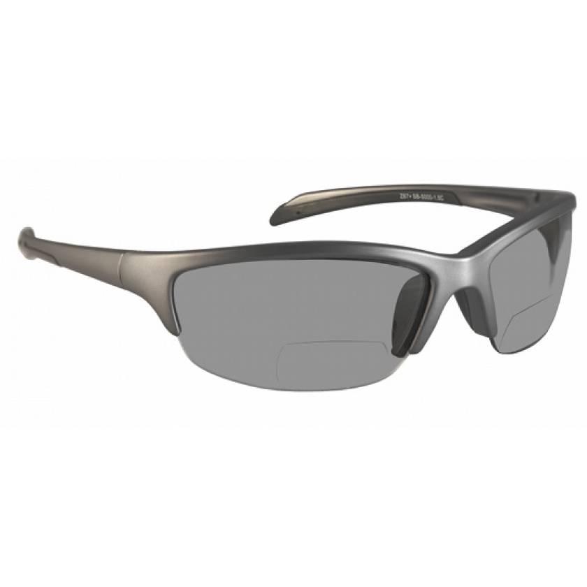 Bifocal Safety Glasses SB-5000 with Smoke Grey Lens