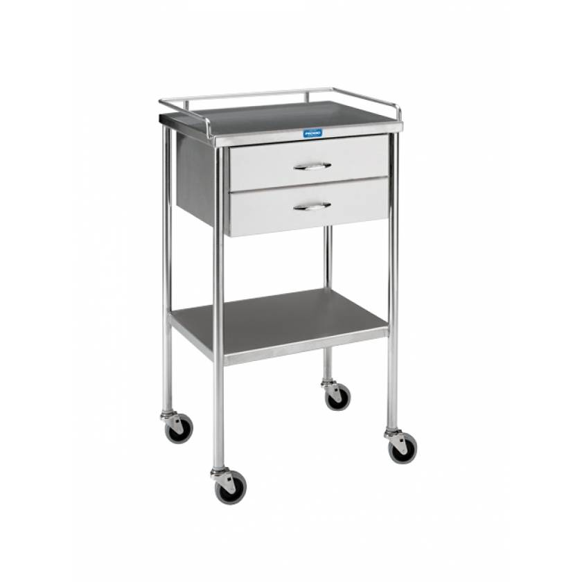 Pedigo Utility Table With Two Drawers