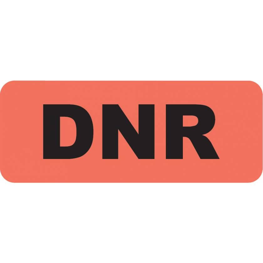 """DNR Label - Size 2 1/4"""" x 7/8"""""""