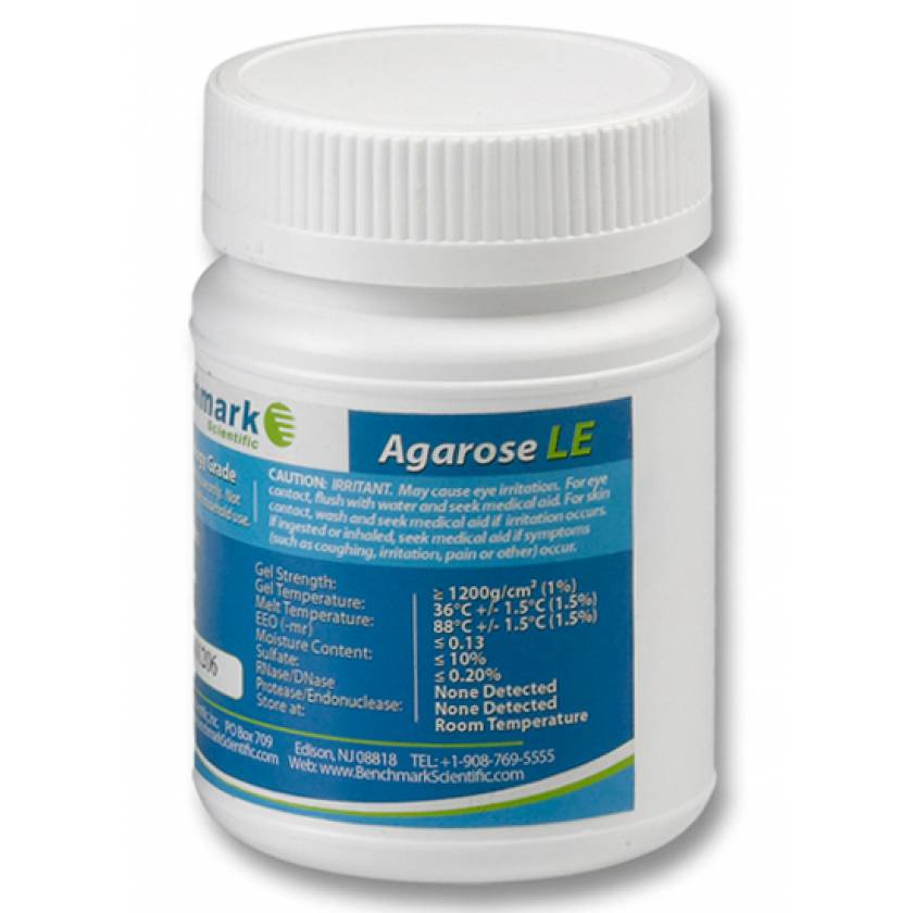 Benchmark Agarose LE 25g - Organic Solvent Free