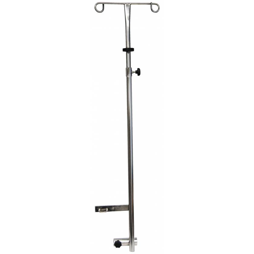 IV Pole for Non-Magnetic Wheelchair