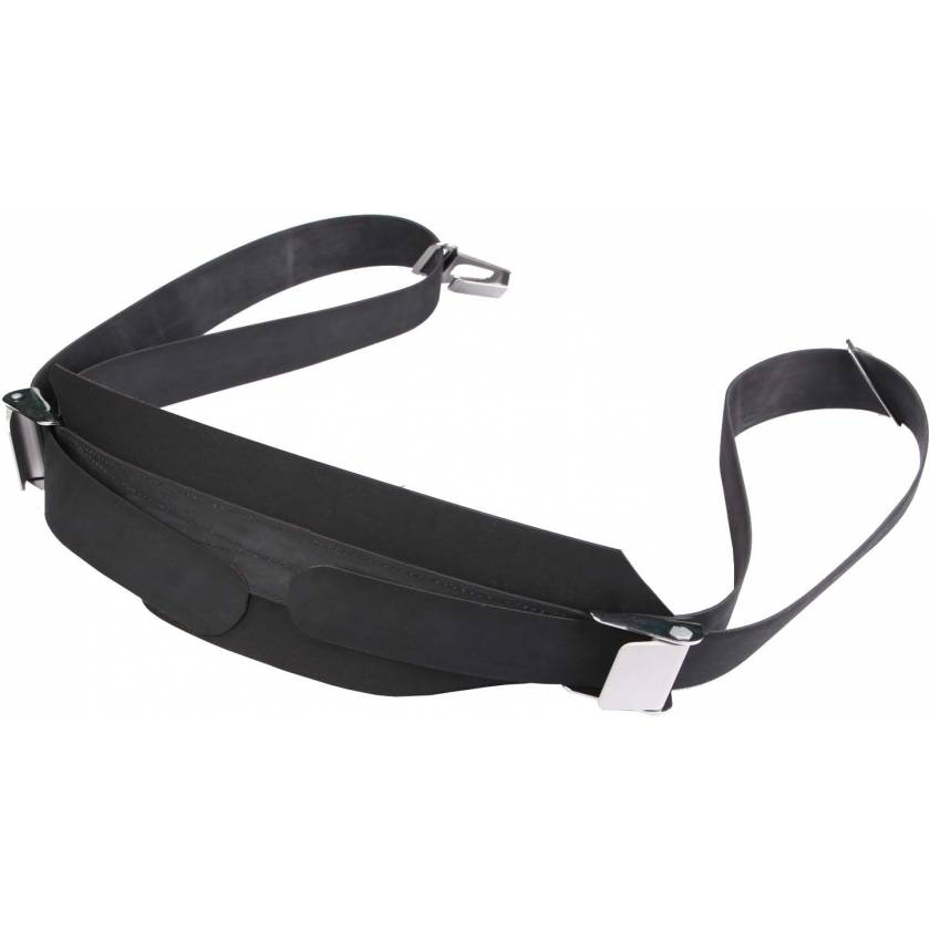 Rubber Patient Restraint Strap with Buckles and Hooks