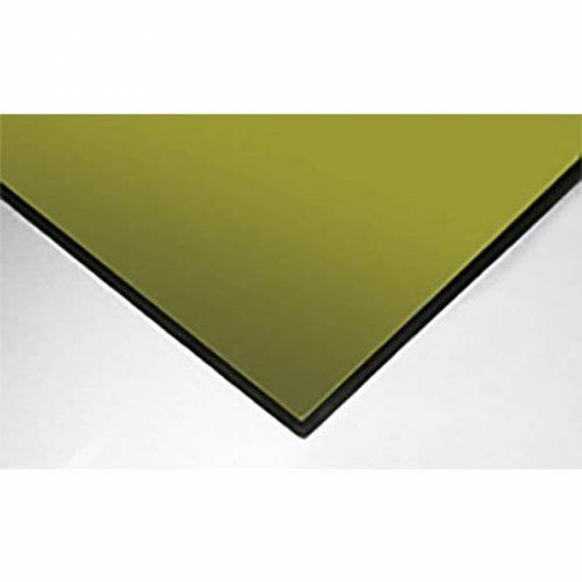 """ALS 1100 Laser Protective Acrylic Sheet - Green - 0.250"""" Thickness"""