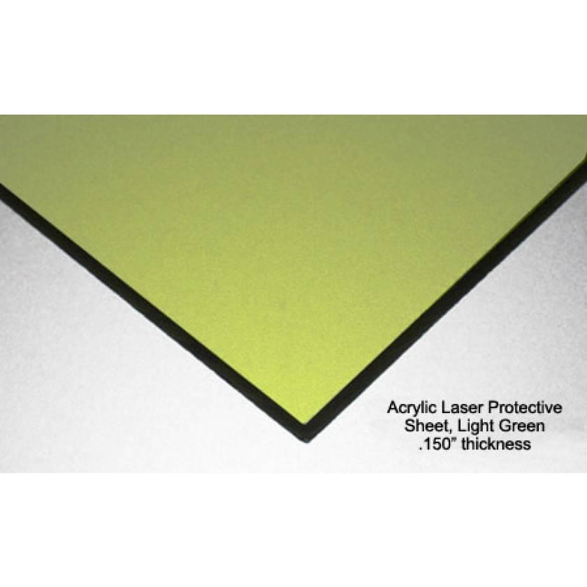 Alexandrite, Diode, YAG Protective Acrylic Sheet