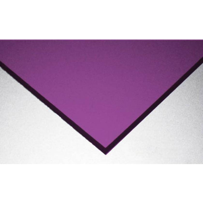 Dye 592 Laser Protective Acrylic Sheet - Violet
