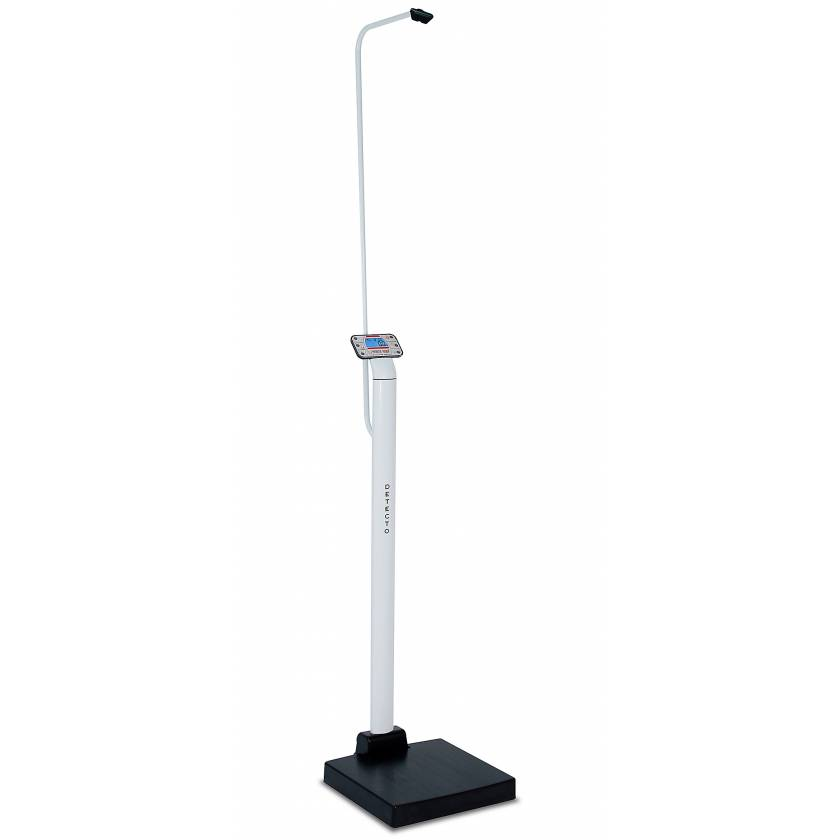 Detecto apex Digital Clinical Scales with Sonar Height Rods 600 lb Capacity