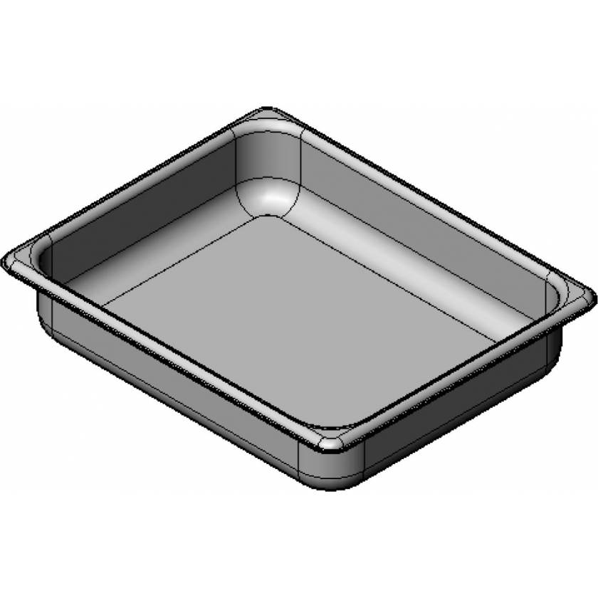 Stainless Steel Treatment Pan