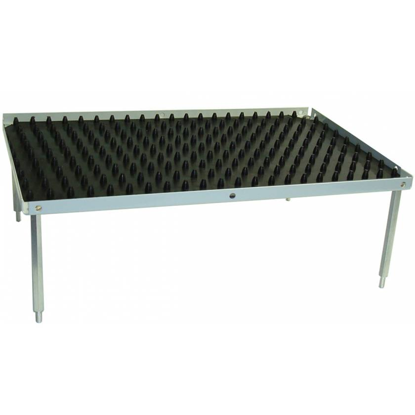 "Optional Stacking Platform With Dimpled Mat - Small 10.5"" x 7.5"""