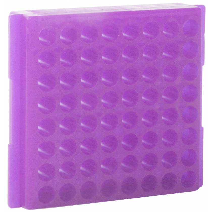 64-Well Microcentrifuge Tube Racks