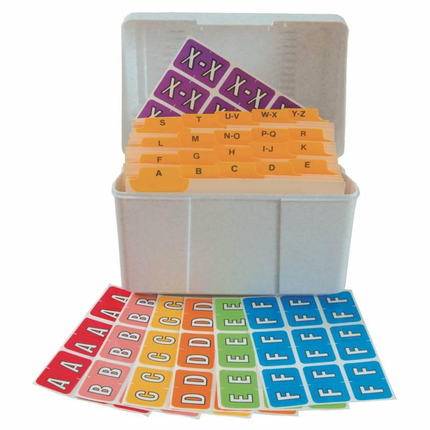 Barkley FABKM Match BRPK Series Alpha Sheet Labels - Desk Set - SKU# BRPK-DSET