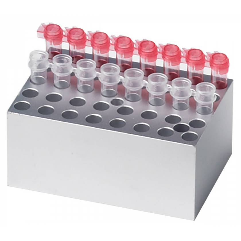 Block For MyBlock Mini Dry Bath - 40 x 0.2ml Tubes or 5 x PCR Strips