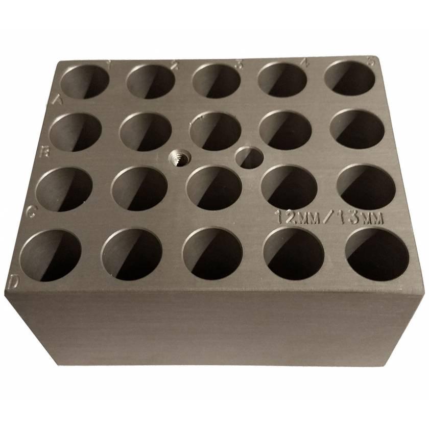Block For Digital Dry Bath - 20 x 13mm or 20 x 5/7ml Tubes