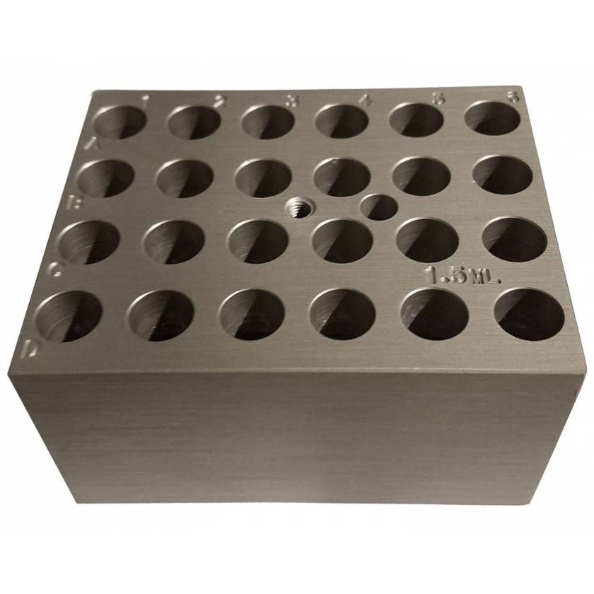 Block For Digital Dry Bath - 24 x 1.5ml Tubes