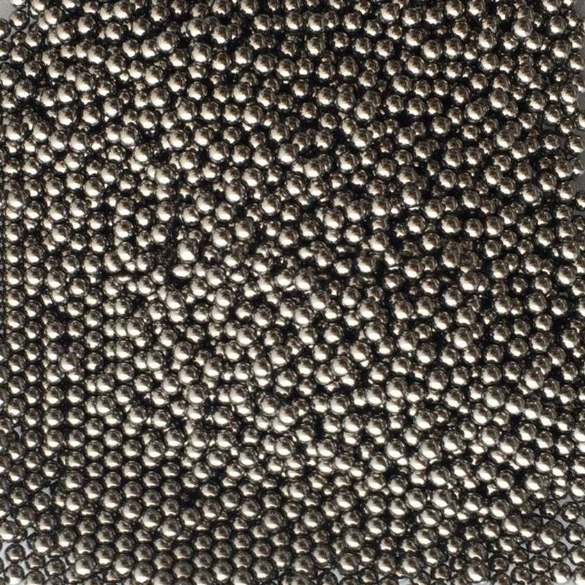 Bulk Beads, Stainless Steel, 2.8mm, acid washed, 1,000/pk