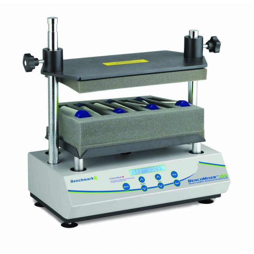 BenchMixer XLQ, QuEChERS Shaker/Vortexer with QuEChERS Racks (115V)