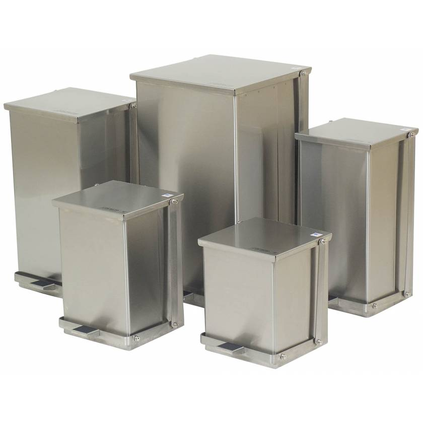 Stainless Steel Step-On Cans