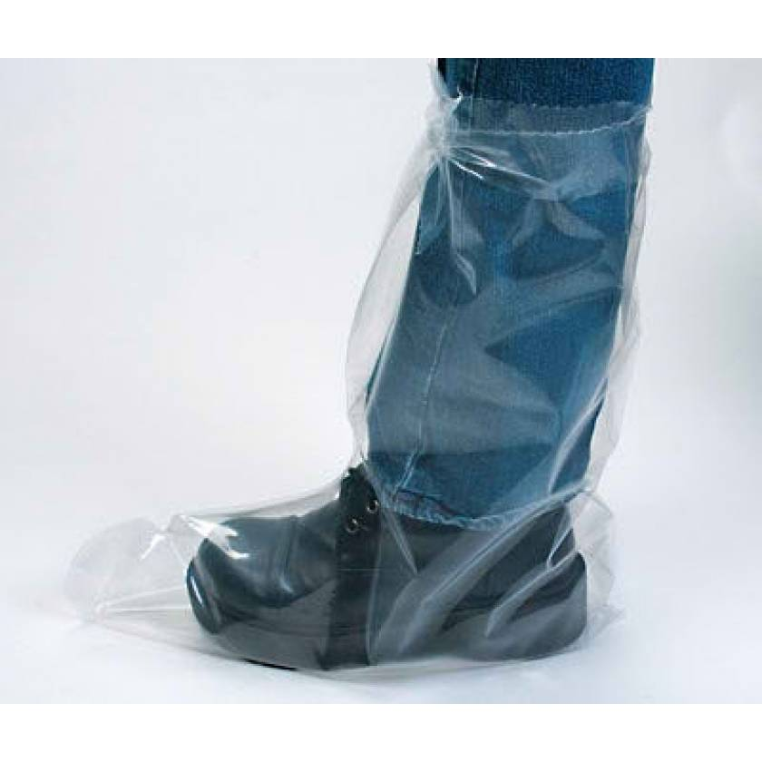 Heavy-Duty Plastic Tie Boots