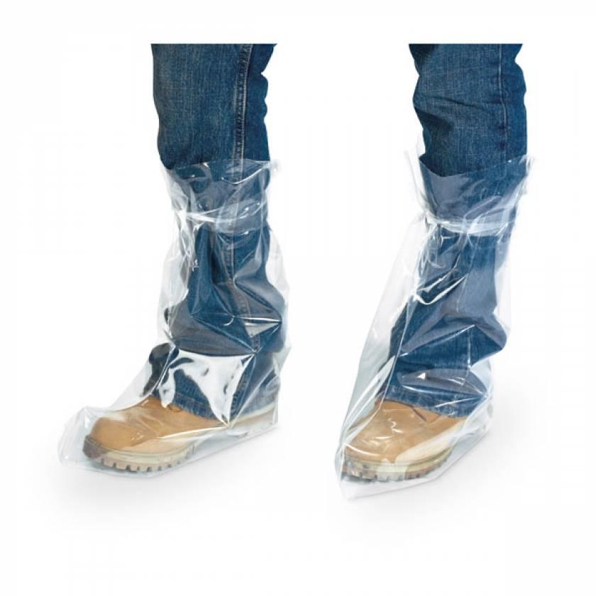 Heavy-Duty Plastic Tie Boots
