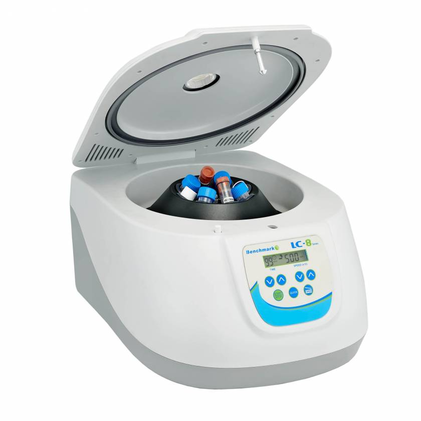 LC-8 5000 Centrifuge with 8 x 15ml Rotor, Max. Speed 5000 rpm